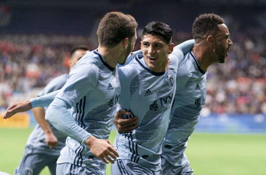 MLS, Sporting KC, Alan Pulido (Photo by Rich Lam/Getty Images)