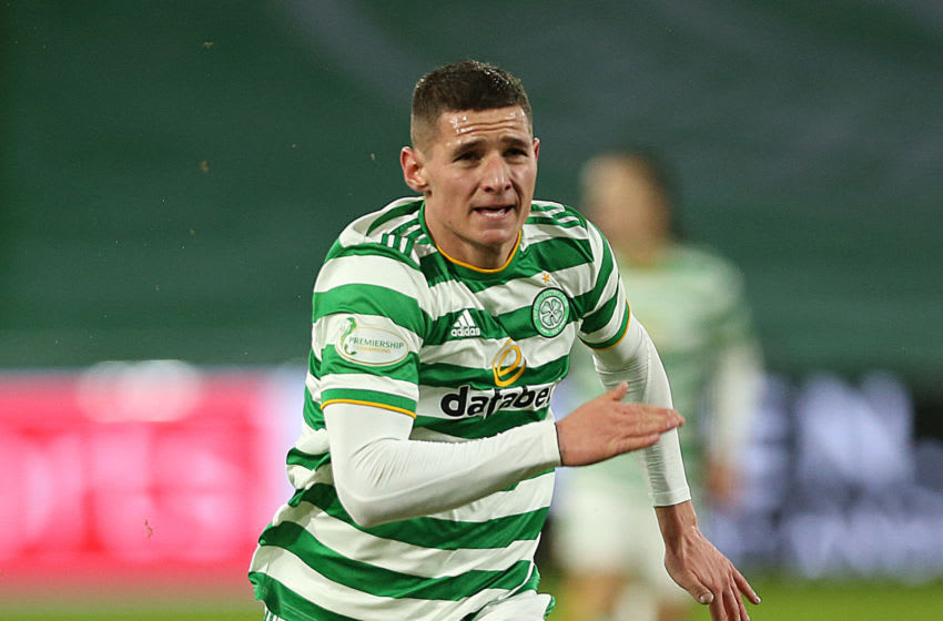 Patryk Klimala of Celtic FC is joining New York Red Bulls. (Photo by Ian MacNicol/Getty Images)