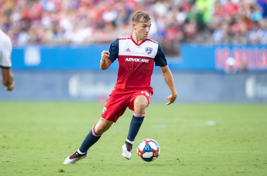 FC Dallas, Paxton Pomykal (Photo by Matthew Visinsky/Icon Sportswire via Getty Images)