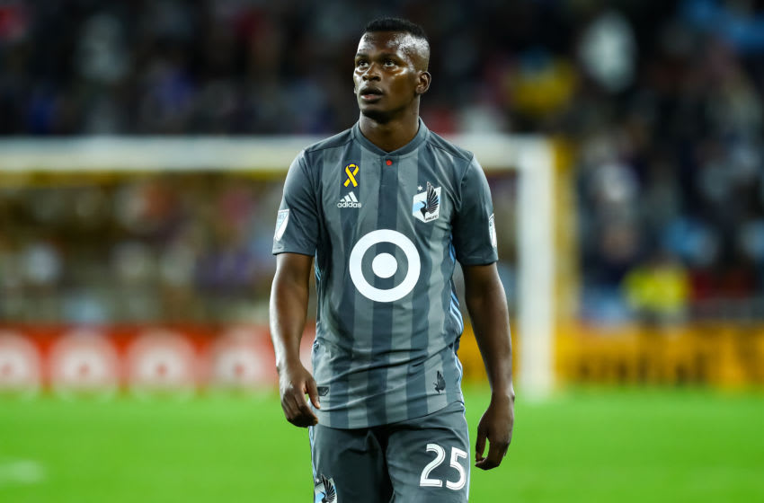 ST. PAUL, MINNESOTA - SEPTEMBER 29: Carlos Darwin Quintero #25 of Minnesota United looks on against Los Angeles FC in the second half of the game at Allianz Field on September 29, 2019 in St. Paul, Minnesota. United and Los Angeles played to a 1-1 draw. (Photo by David Berding/Getty Images)