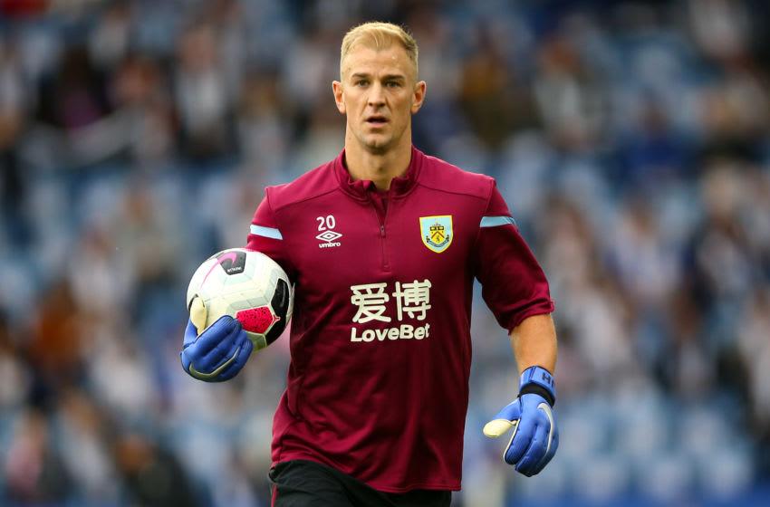 Burnley goalkeeper Joe Hart (Photo by Nigel French/PA Images via Getty Images)