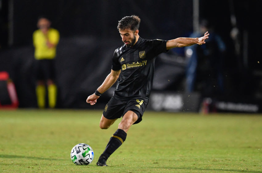 LAFC, Diego Rossi #9 (Photo by Roy K. Miller/ISI Photos/Getty Images).