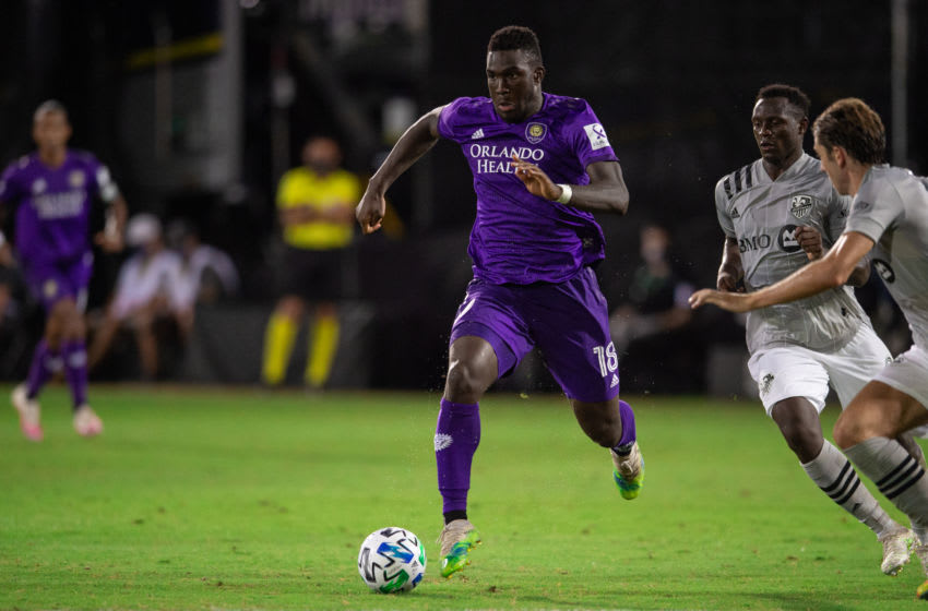 Orlando City, Daryl Dike #18 (Photo by Jeremy Reper/ISI Photos/Getty Images).