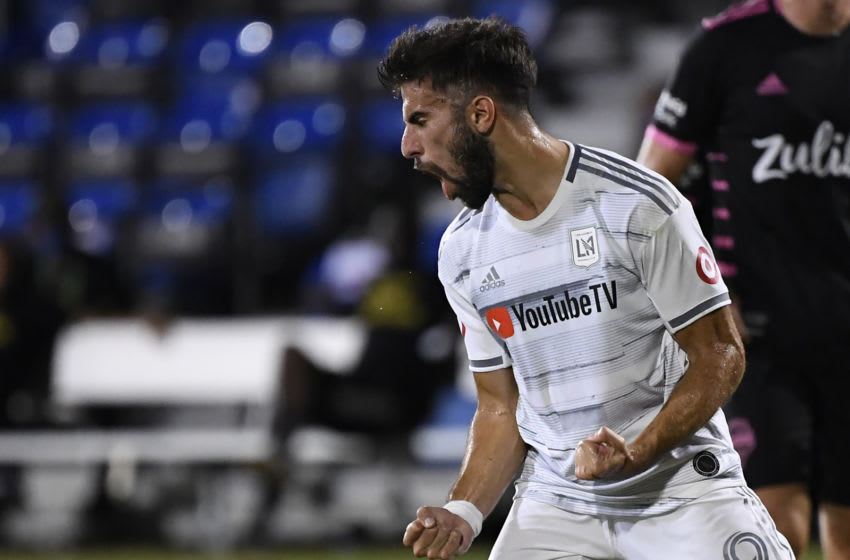 MLS, LAFC, Diego Rossi (Photo by Douglas P. DeFelice/Getty Images)