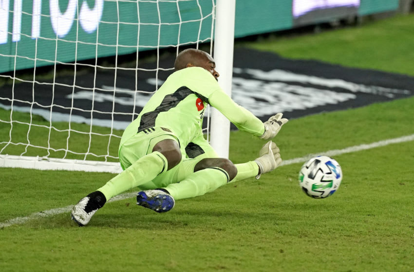 LAFC, Kenneth Vermeer. Mandatory Credit: Kirby Lee-USA TODAY Sports