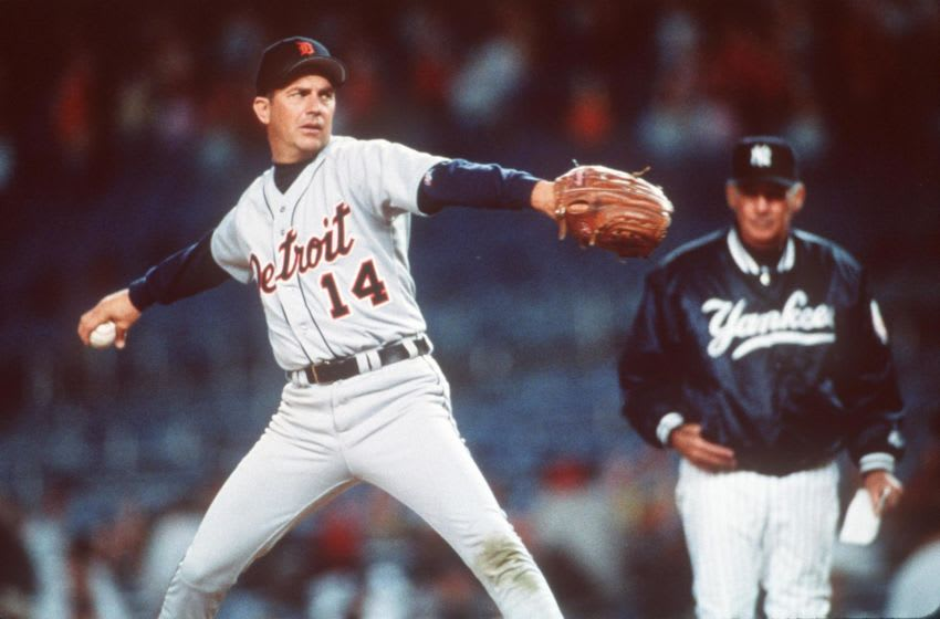Billy Chapel (played by Kevin Costner) is a pitcher for the Detroit Tigers in