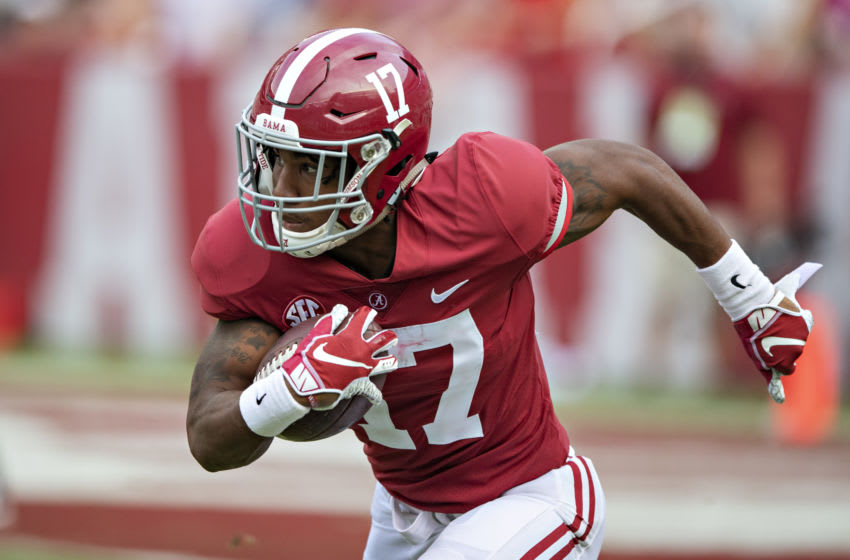 Alabama WR Jaylen Waddle (Photo by Wesley Hitt/Getty Images)