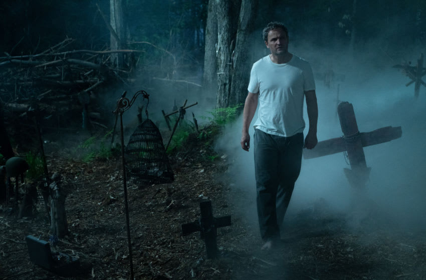 Jason Clarke as Louis in PET SEMATARY, from Paramount Pictures. -- Photo credit: Kerry Hayes -- Acquired via Paramount Pictures press site