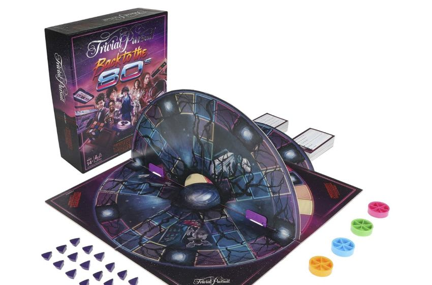 Discover Hasbro's Stranger Things tie-in Trivial Pursuit board game on Amazon.