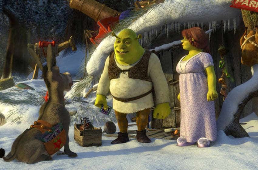 SHREK THE HALLS - Just when Shrek thought he could finally sit back, relax and enjoy his happily ever after with his new family, the most joyous of all holidays arrives. It's Christmas Eve, and everyone is filled with holiday cheer, except for Shrek. He isn't exactly the picture of yuletide joy, but for the sake of Fiona and the kids, he tries to get into the spirit of things as only an ogre can. Unfortunately, everyone seems to have their own ideas about what Christmas is all about, so when Donkey, Puss In Boots, Gingy and the whole gang try to join in on the fun, Shrek's plans for a cozy family celebration end up spiraling into one truly unforgettable Christmas. DreamWorks Animation's