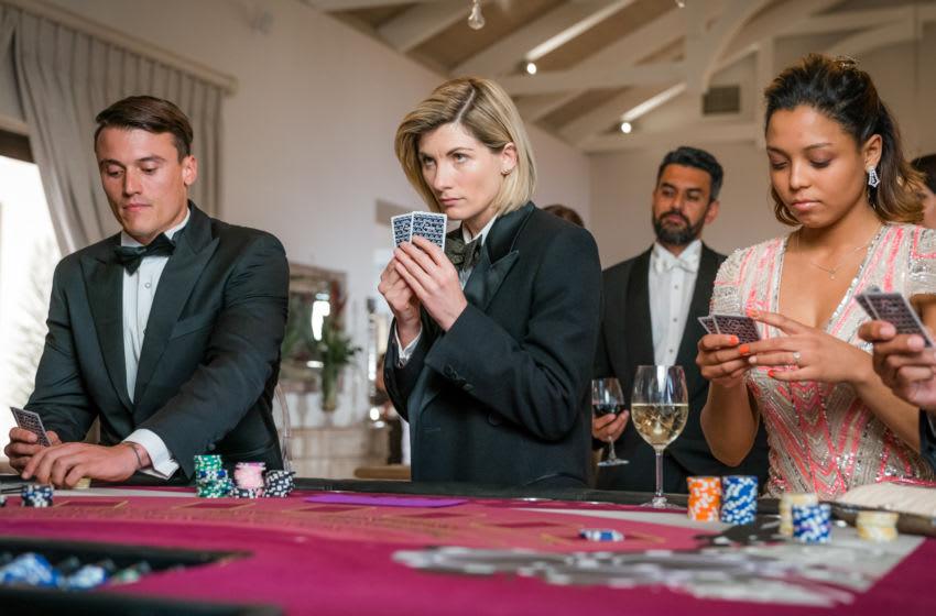 Jodie Whittaker as The Doctor - Doctor Who _ Season 12, Episode 1 - Photo Credit: Ben Blackall/BBC Studios/BBC America