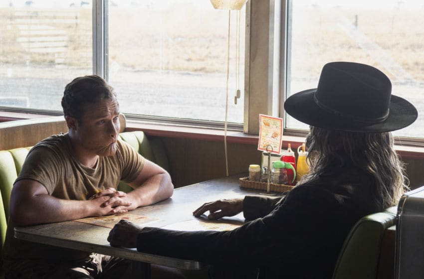 Graham McTavish as The Saint of Killers, Ian Colletti as Eugene Root/Arseface - Preacher _ Season 4, Episode 3 - Photo Credit: Lachlan Moore/AMC/Sony Pictures Television