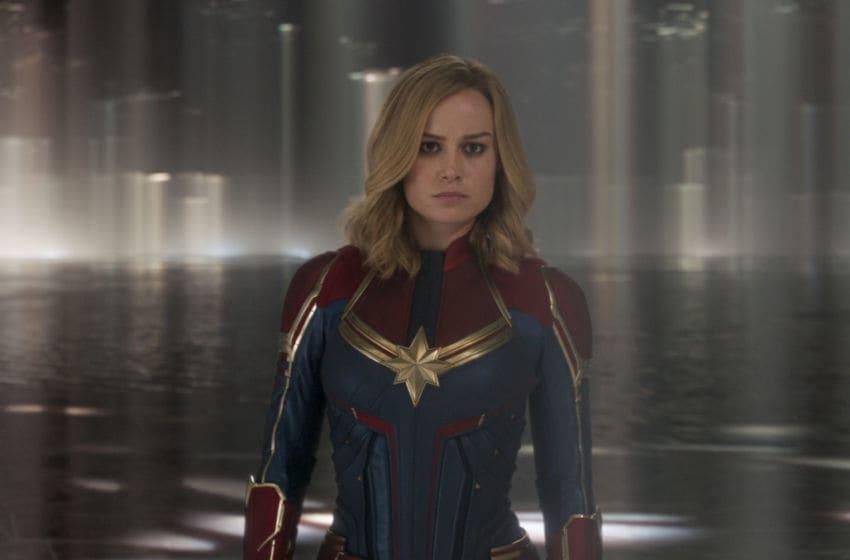 Marvel Studios' CAPTAIN MARVEL..Captain Marvel (Brie Larson)..Photo: Film Frame..©Marvel Studios 2019