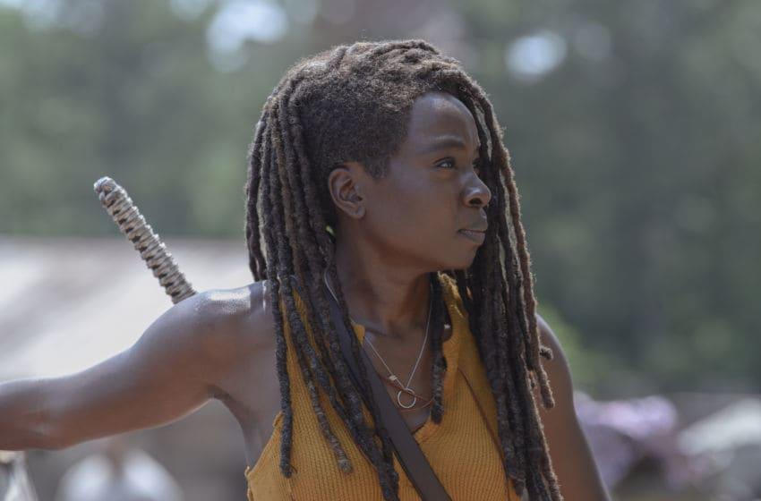 Danai Gurira as Michonne - The Walking Dead _ Season 10, Episode 4 - Photo Credit: Gene Page/AMC