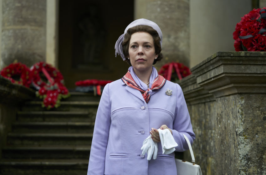 Photo: Olivia Colman in The Crown Season 3.. Courtesy of Des Willie / Netflix