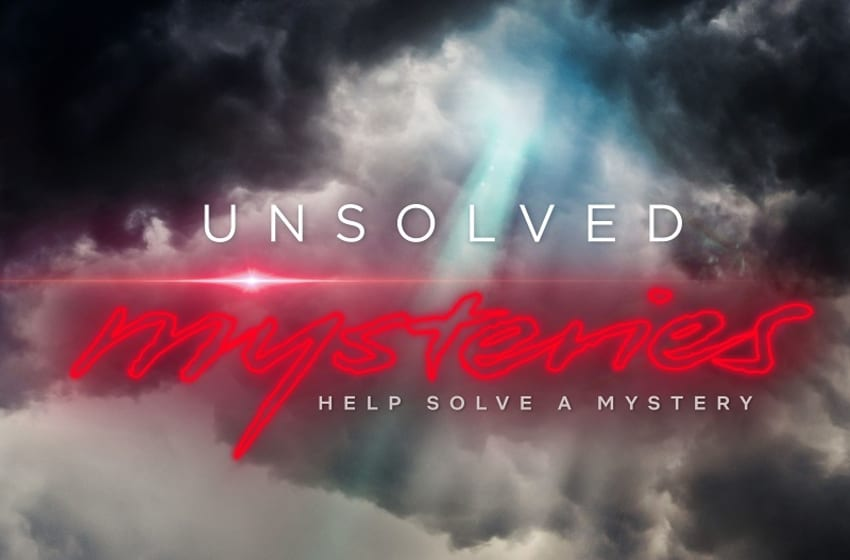 Unsolved Mysteries key art. (Photo Credit: Courtesy of Netflix.)