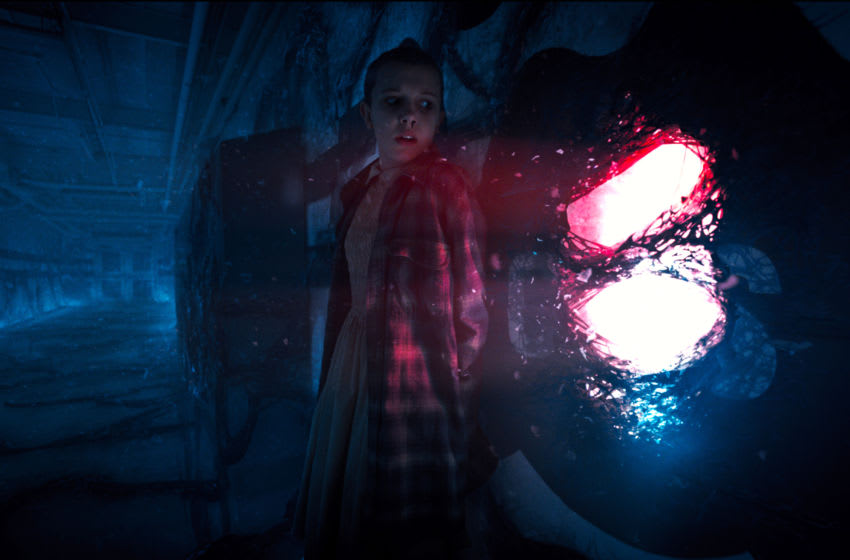 Stranger Things season 2 production still. Photo: Courtesy Netflix
