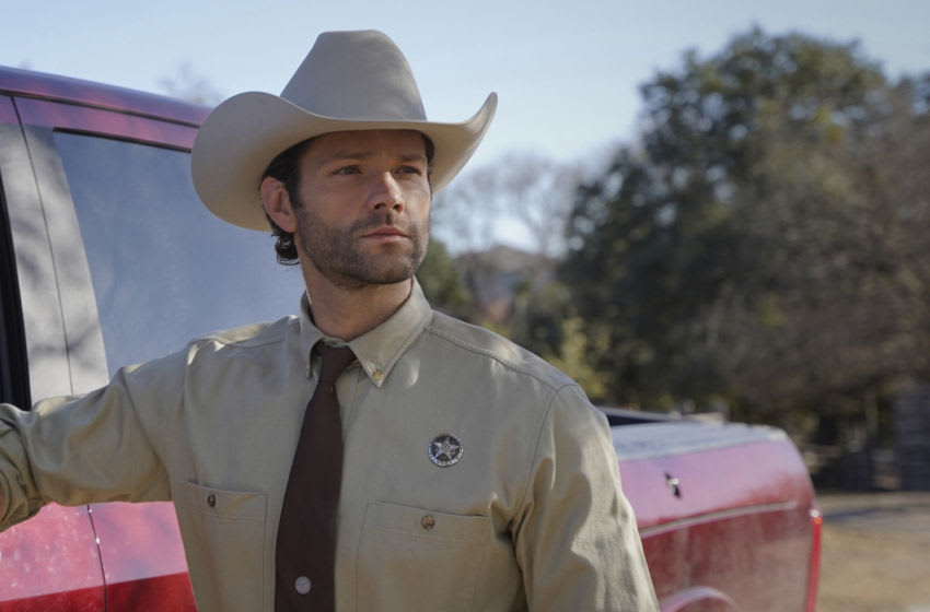 """Walker -- """"Pilot"""" -- Image Number: WLK101g_0178r2 -- Pictured: Jared Padalecki as Cordell Walker -- Photo: Rebecca Brenneman/The CW -- © 2021 The CW Network, LLC. All Rights Reserved."""