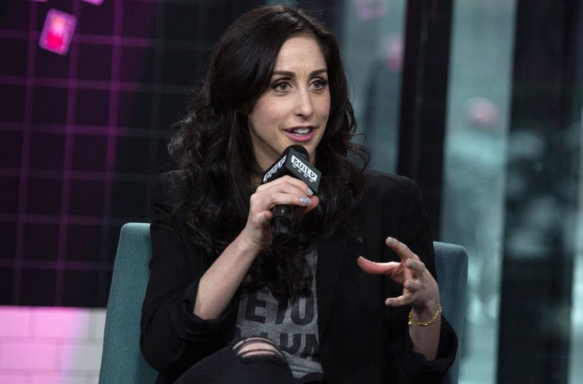 Catherine Reitman - Workin' Moms season 5 - (Photo by Santiago Felipe/Getty Images)