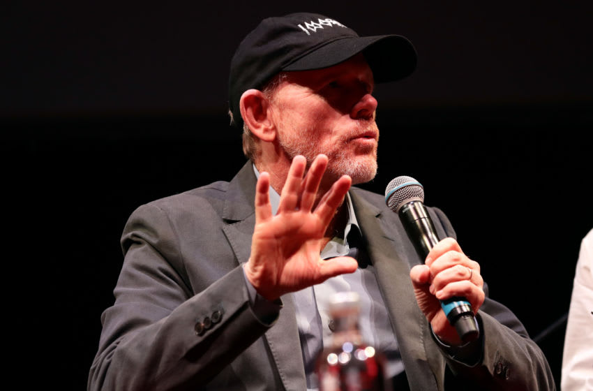 ROME, ITALY - OCTOBER 19: Ron Howard attends the masterclass during the 14th Rome Film Festival on October 19, 2019 in Rome, Italy. (Photo by Vittorio Zunino Celotto/Getty Images for RFF)