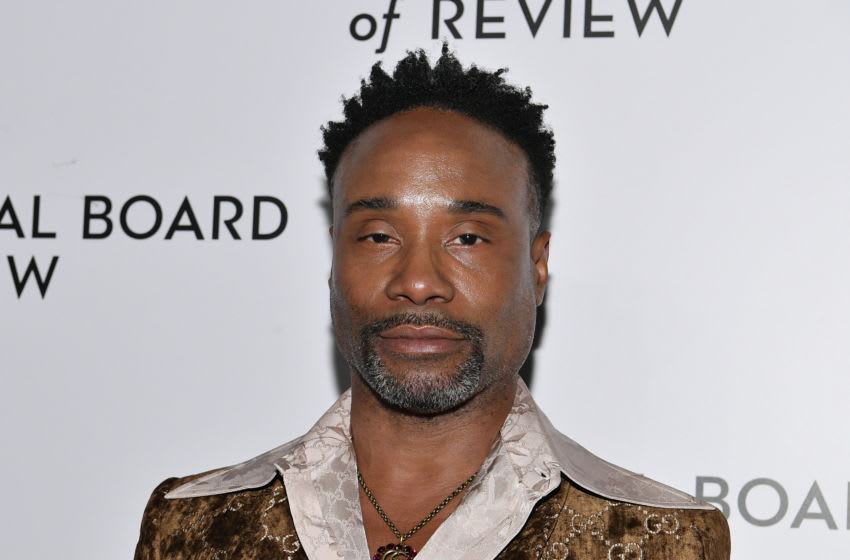 NEW YORK, NEW YORK - JANUARY 08: Billy Porter attends the 2020 National Board Of Review Gala on January 08, 2020 in New York City. (Photo by Dia Dipasupil/Getty Images)