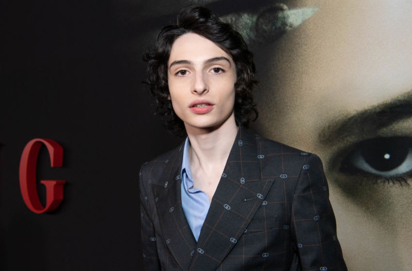 HOLLYWOOD, CALIFORNIA - JANUARY 21: Finn Wolfhard arrives at the premiere of Universal Pictures'