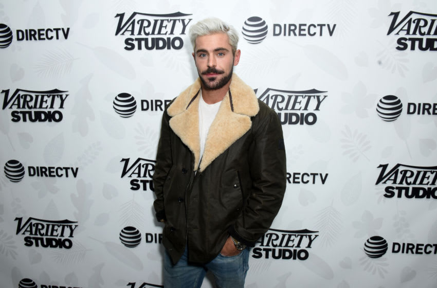 "PARK CITY, UTAH - JANUARY 26: Zac Efron at the ""Extremely Wicked, Shockingly Evil and Vile"" party at DIRECTV Lodge presented by AT&T at Sundance Film Festival 2019 on January 26, 2019 in Park City, Utah. (Photo by Vivien Killilea/Getty Images for AT&T and DIRECTV)"