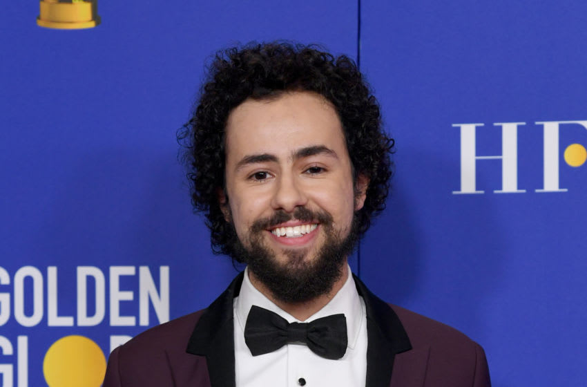 BEVERLY HILLS, CALIFORNIA - JANUARY 05: Ramy Youssef, winner of Best Performance by an Actor In a Television Series - Musical or Comedy, poses in the press room during the 77th Annual Golden Globe Awards at The Beverly Hilton Hotel on January 05, 2020 in Beverly Hills, California. (Photo by Kevin Winter/Getty Images)