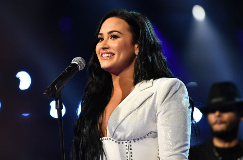 LOS ANGELES, CALIFORNIA - JANUARY 26: Demi Lovato performs onstage during the 62nd Annual GRAMMY Awards at STAPLES Center on January 26, 2020 in Los Angeles, California. (Photo by Emma McIntyre/Getty Images for The Recording Academy)