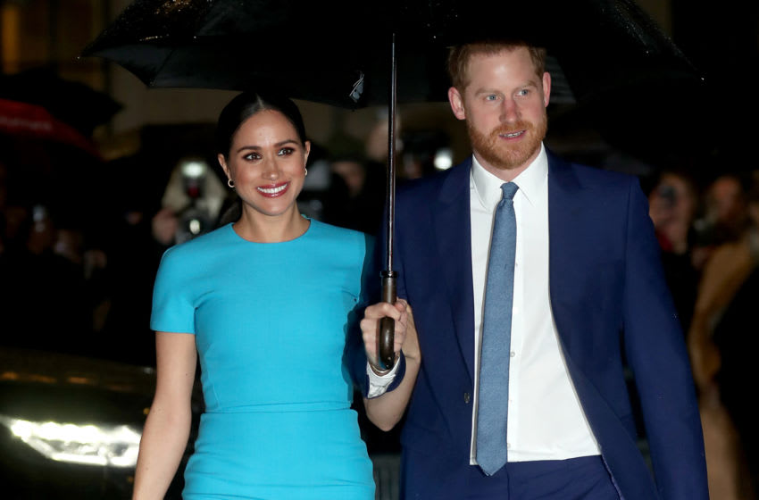 Prince Harry and Meghan Markle (Photo by Chris Jackson/Getty Images)