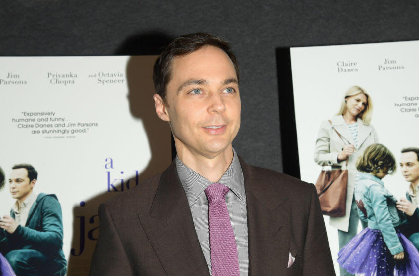 NEW YORK, NY - MAY 21: Actor Jim Parsons attends the A Kid Like Jake New York Premiere at The Landmark at 57 West on May 21, 2018 in New York City. (Photo by Ben Gabbe/Getty Images)