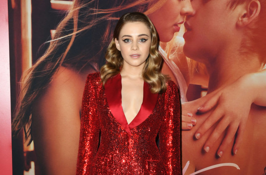 LOS ANGELES, CALIFORNIA - APRIL 08: Josephine Langford attends the Los Angeles premiere of Aviron Pictures'