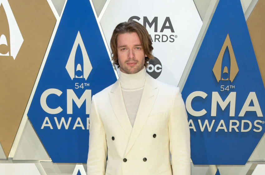 NASHVILLE, TENNESSEE - NOVEMBER 11: (FOR EDITORIAL USE ONLY) Patrick Schwarzenegger attends the 54th annual CMA Awards at the Music City Center on November 11, 2020 in Nashville, Tennessee. (Photo by Jason Kempin/Getty Images for CMA)
