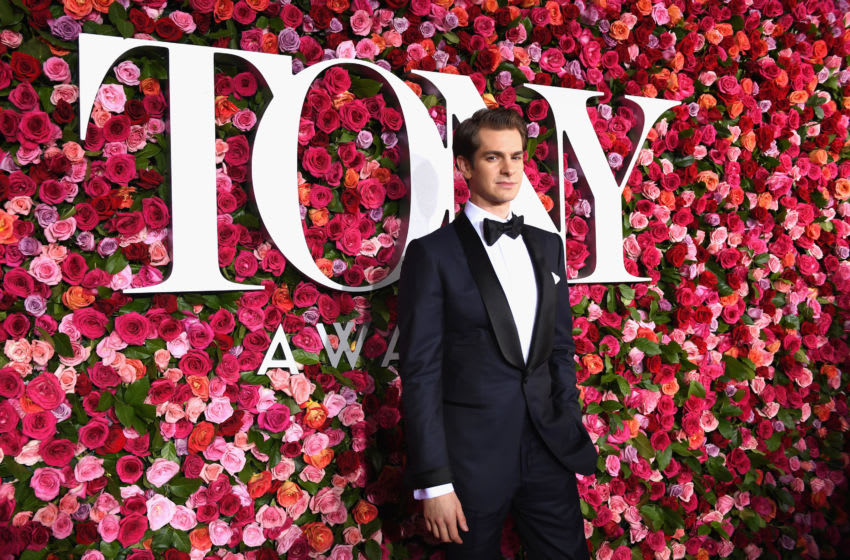 NEW YORK, NY - JUNE 10: Andrew Garfield attends the 72nd Annual Tony Awards at Radio City Music Hall on June 10, 2018 in New York City. (Photo by Larry Busacca/Getty Images for Tony Awards Productions )