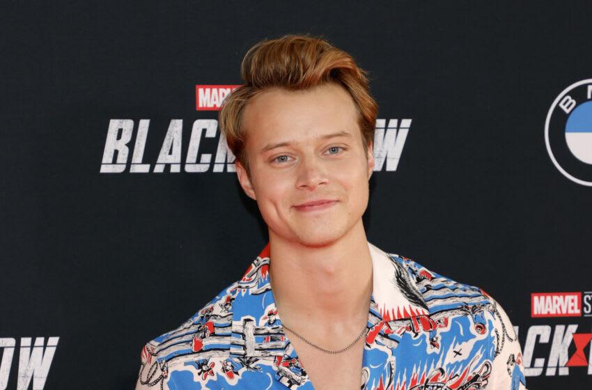 LOS ANGELES, CALIFORNIA - 29 DE JUNIO: Rudy Pankow asiste a Marvel Studios''La viuda negra 'Fan Event en El Capitan Theatre el 29 de junio de 2021 en Los Angeles, California.  (Foto de Amy Sussman / Getty Images)