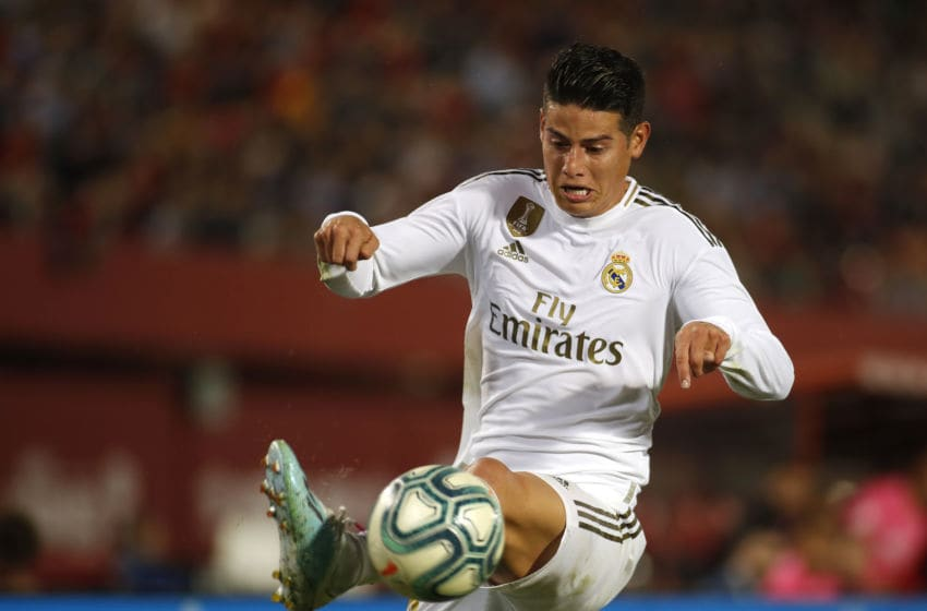 Real Madrid's Colombian midfielder James Rodriguez (Photo by JAIME REINA/AFP via Getty Images)