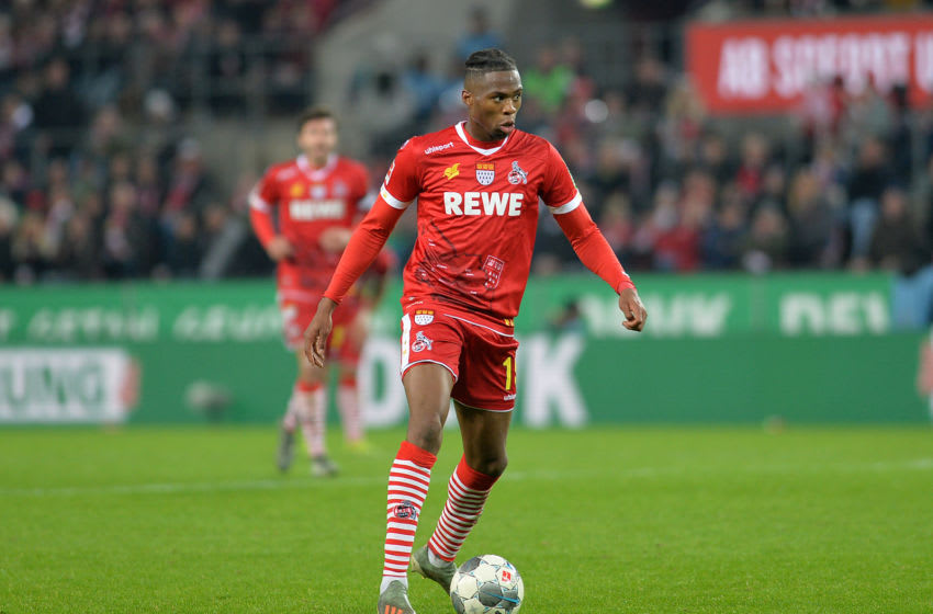 Kingsley Ehizibue of 1. FC Koeln. (Photo by TF-Images/Getty Images)