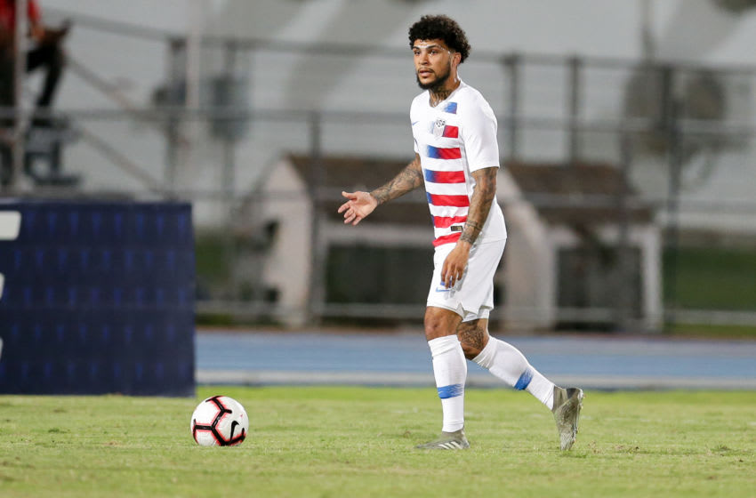 DeAndre Yedlin #2 of the United States. (Photo by John Dorton/ISI Photos/Getty Images)