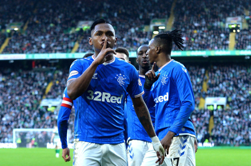 Alfredo Morelos of Rangers. (Photo by Mark Runnacles/Getty Images)