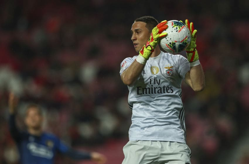 Odysseas Vlachodimos of SL Benfica (Photo by Carlos Rodrigues/Getty Images)
