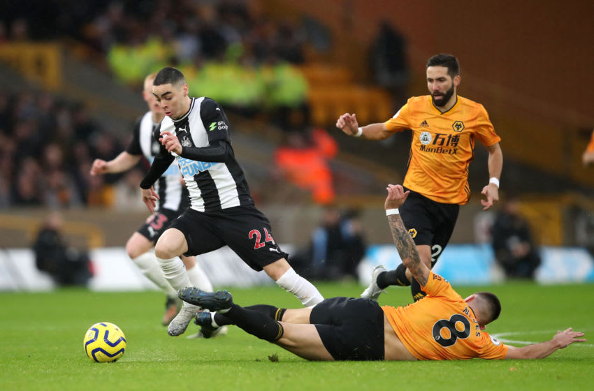 Miguel Almiron of Newcastle United. (Photo by Marc Atkins/Getty Images)