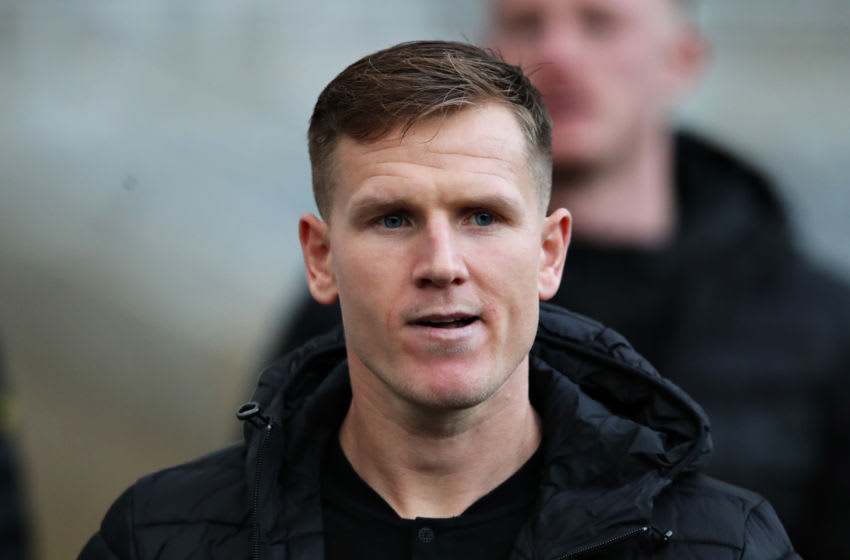 NEWCASTLE UPON TYNE, ENGLAND - JANUARY 18: Matt Ritchie of Newcastle United arrives at the ground before the Premier League match between Newcastle United and Chelsea FC at St. James Park on January 18, 2020 in Newcastle upon Tyne, United Kingdom. (Photo by Ian MacNicol/Getty Images)