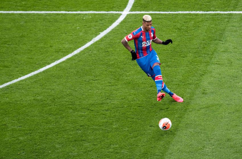 Patrick van Aanholt of Crystal Palace (Photo by Sebastian Frej/MB Media/Getty Images)