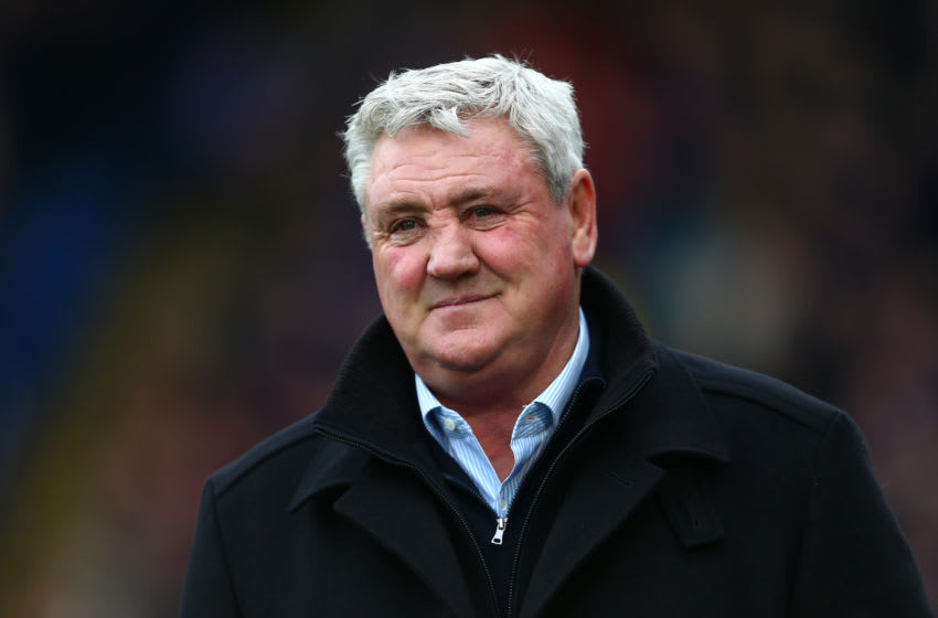 LONDON, ENGLAND - FEBRUARY 22: Steve Bruce, Manager of Newcastle United looks on prior to the Premier League match between Crystal Palace and Newcastle United at Selhurst Park on February 22, 2020 in London, United Kingdom. (Photo by Jordan Mansfield/Getty Images)