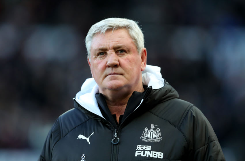Steve Bruce, Manager of Newcastle United.(Photo by Alex Livesey/Getty Images)
