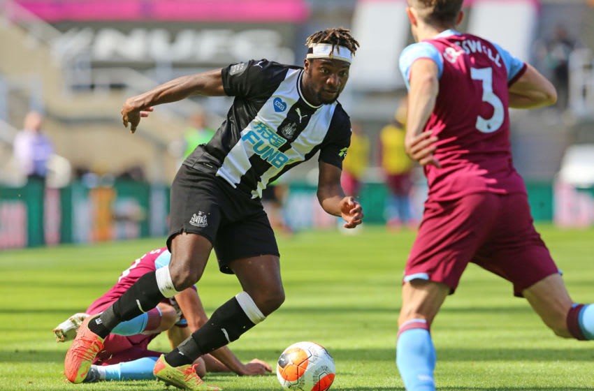 Allan Saint-Maximin of Newcastle. (Photo by Ian Horrocks/Getty Images)