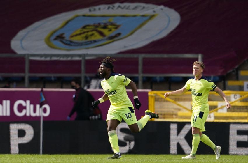 Newcastle United's Allan Saint-Maximin. (Photo by JON SUPER/POOL/AFP via Getty Images)