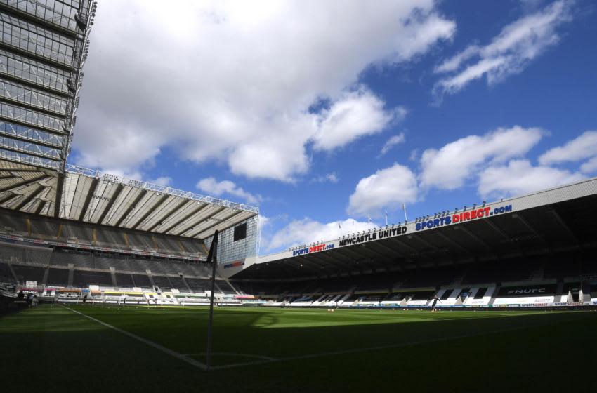 Newcastle United's stadium: St. James' Park. (Photo by Michael Regan/Getty Images)