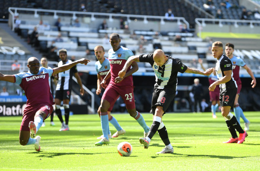 Jonjo Shelvey of Newcastle United. (Photo by Michael Regan/Getty Images)