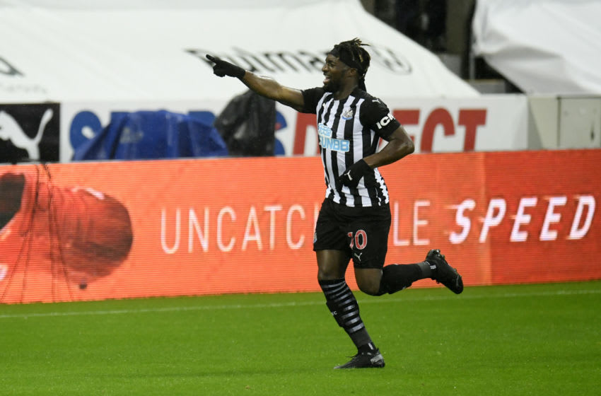 Allan Saint-Maximin of Newcastle United. (Photo by Peter Powell - Pool/Getty Images)